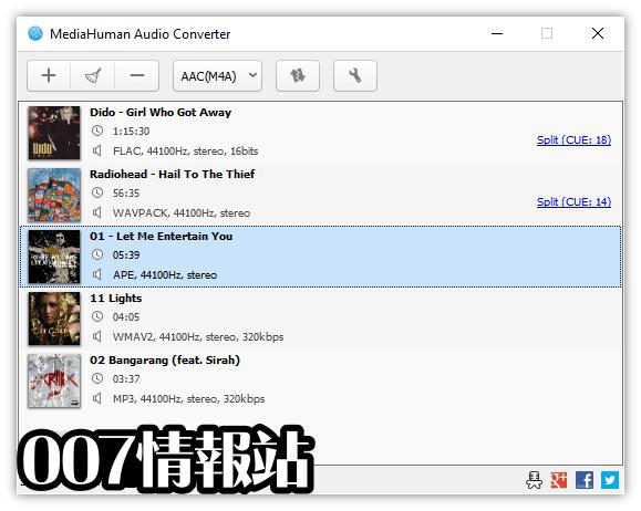 MediaHuman Audio Converter Screenshot 1