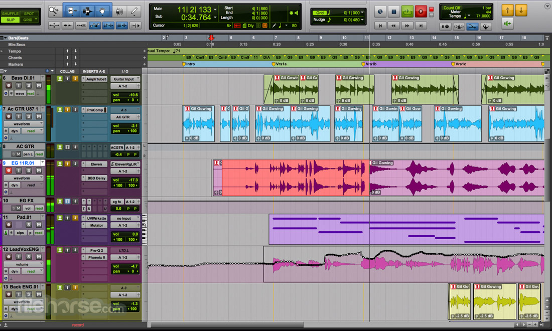 Pro Tools Screenshot 1