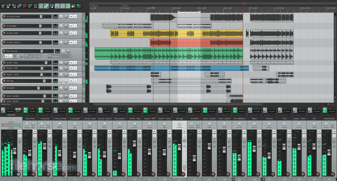 REAPER (32-bit) Screenshot 1