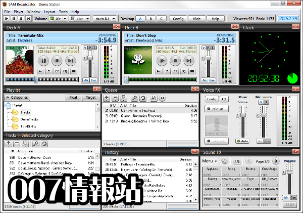 SAM Broadcaster PRO (32-bit) Screenshot 1
