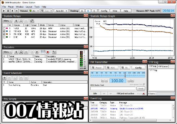 SAM Broadcaster PRO (32-bit) Screenshot 2
