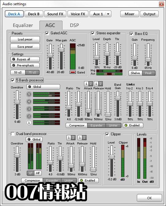 SAM Broadcaster PRO (32-bit) Screenshot 3
