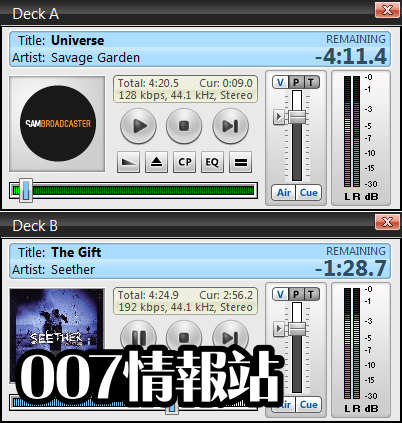 SAM Broadcaster PRO (32-bit) Screenshot 4