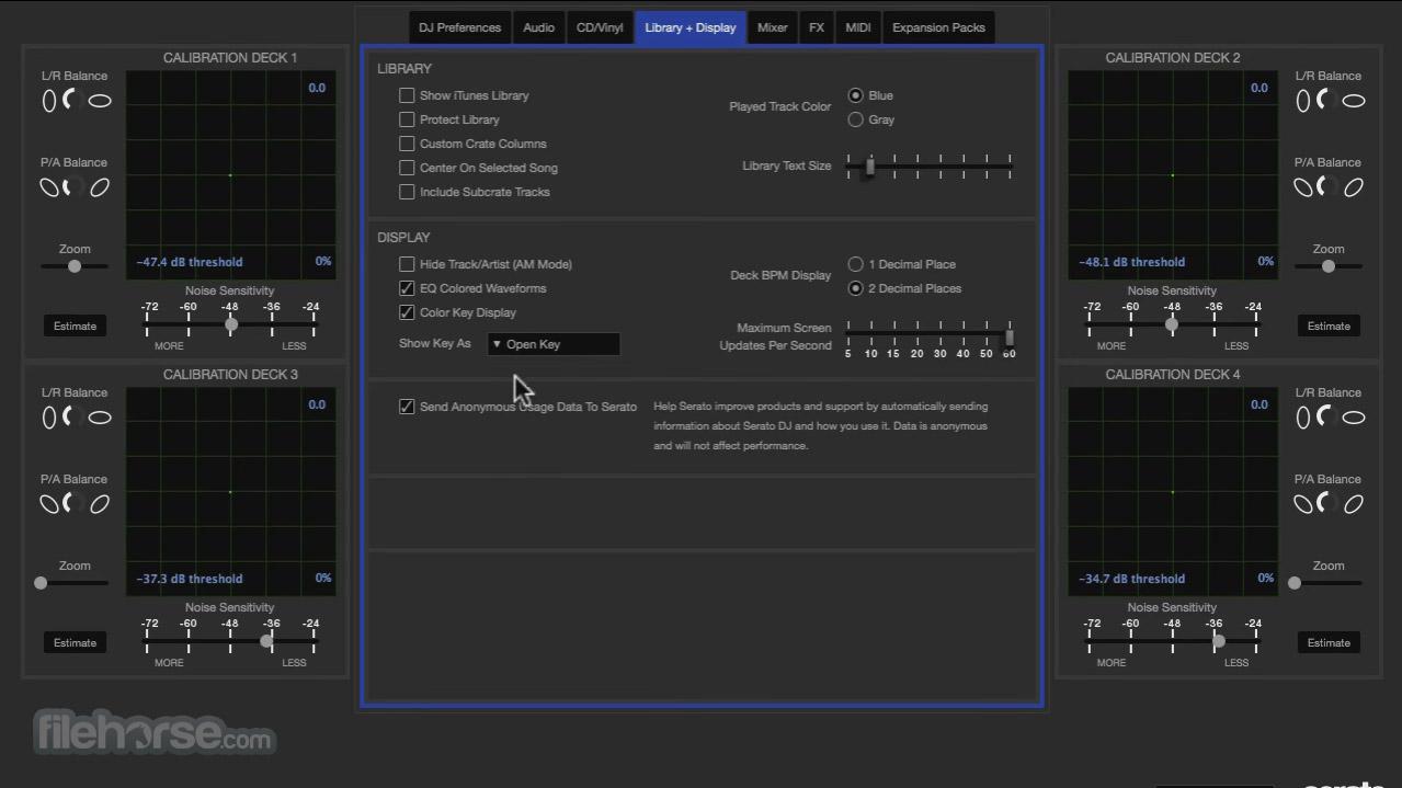 Serato DJ Screenshot 2