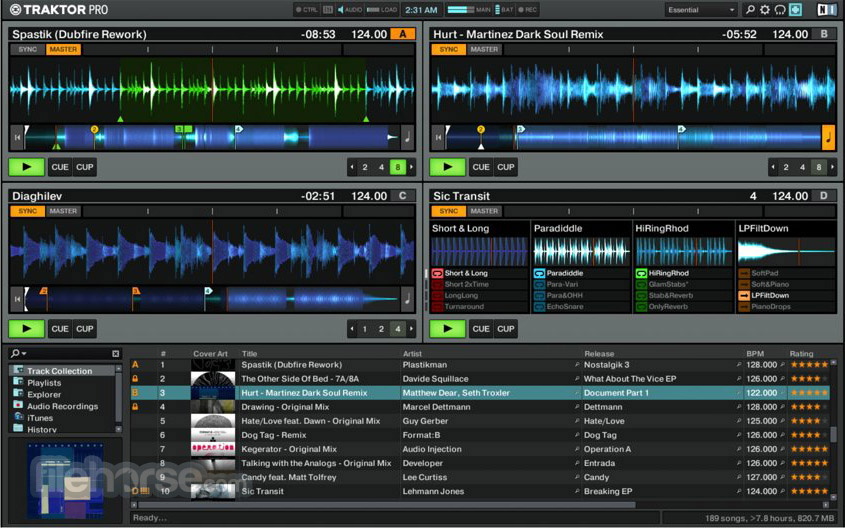 Traktor DJ software Screenshot 3