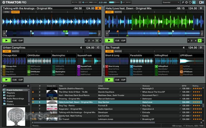 Traktor DJ software Screenshot 4