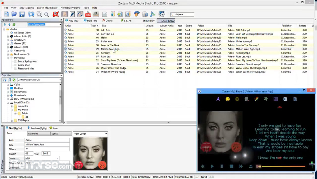 Zortam Mp3 Media Studio Screenshot 2