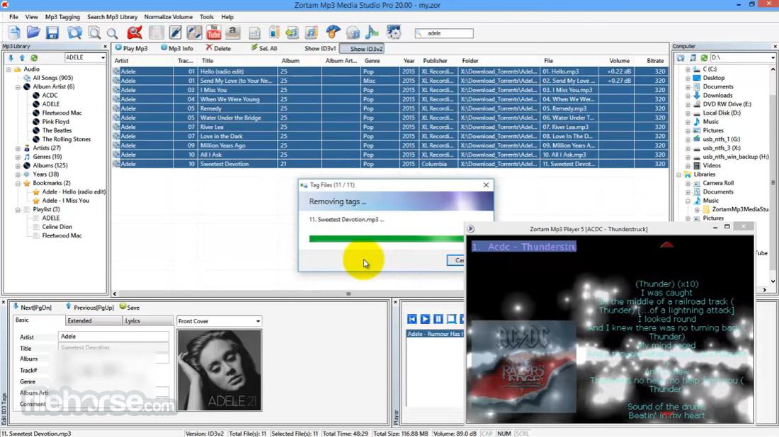 Zortam Mp3 Media Studio Screenshot 4