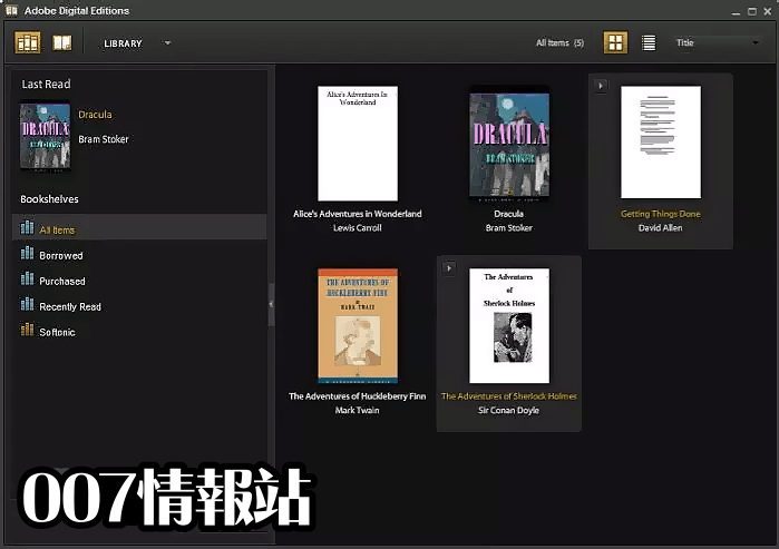 Adobe Digital Editions Screenshot 3