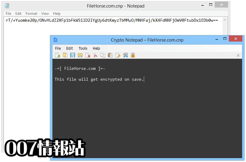 Crypto Notepad Screenshot 4