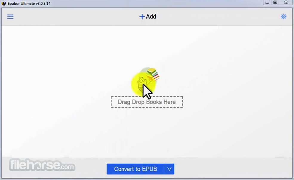 Epubor Ultimate eBook Converter Screenshot 1