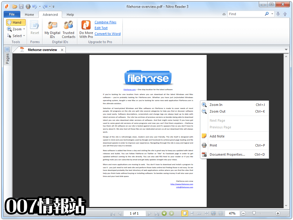Nitro PDF Reader (32-bit) Screenshot 2