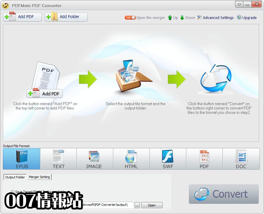PDFMate PDF Converter Free Screenshot 1