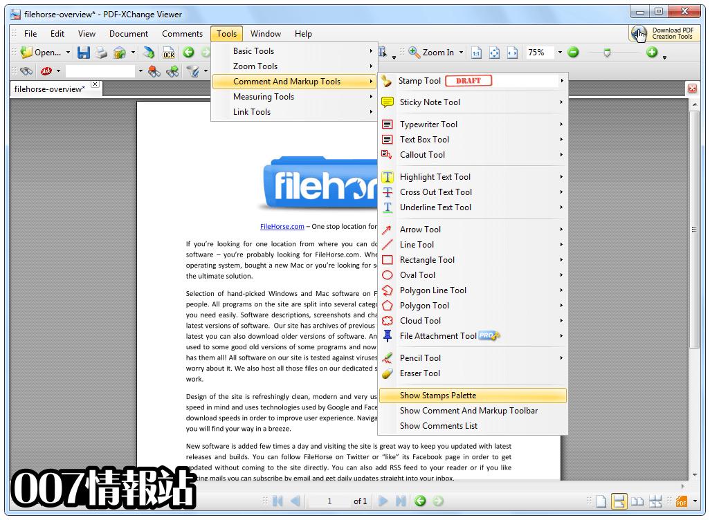 PDF-XChange Viewer Screenshot 3