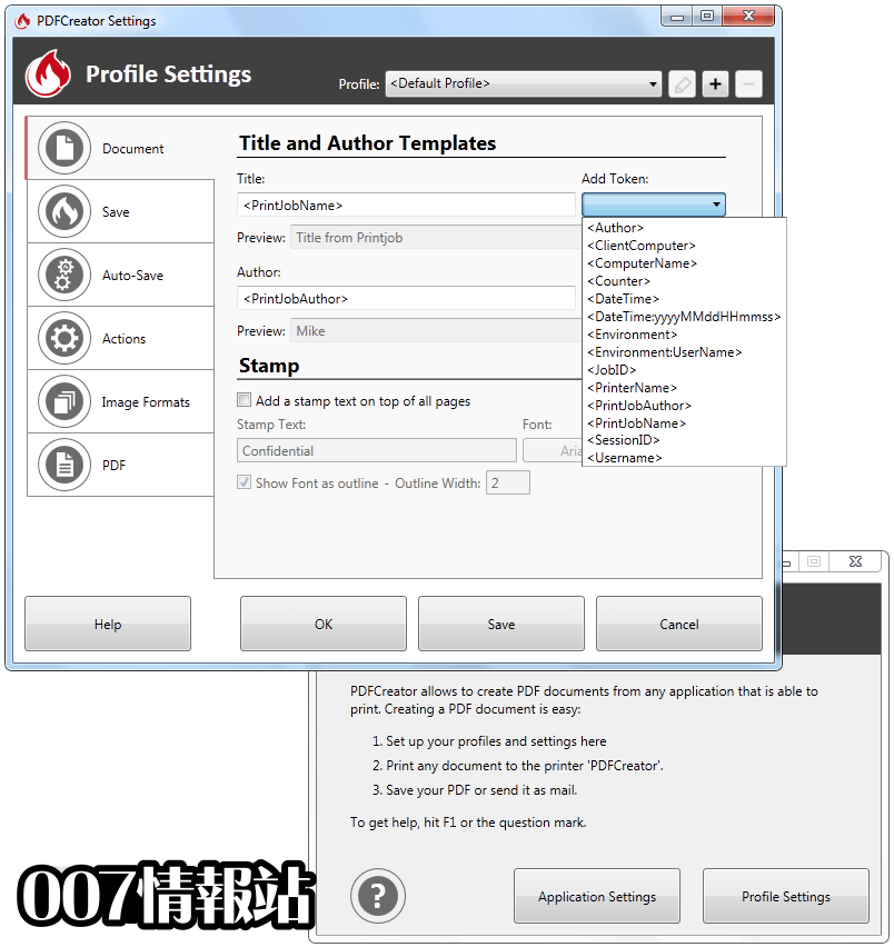 PDFCreator Screenshot 2
