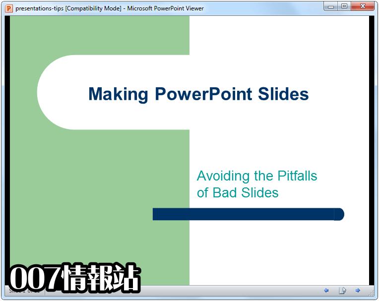 PowerPoint Viewer Screenshot 1