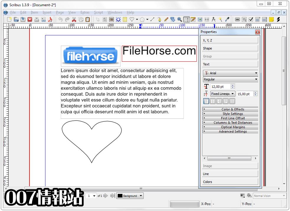 Scribus (64-bit) Screenshot 4