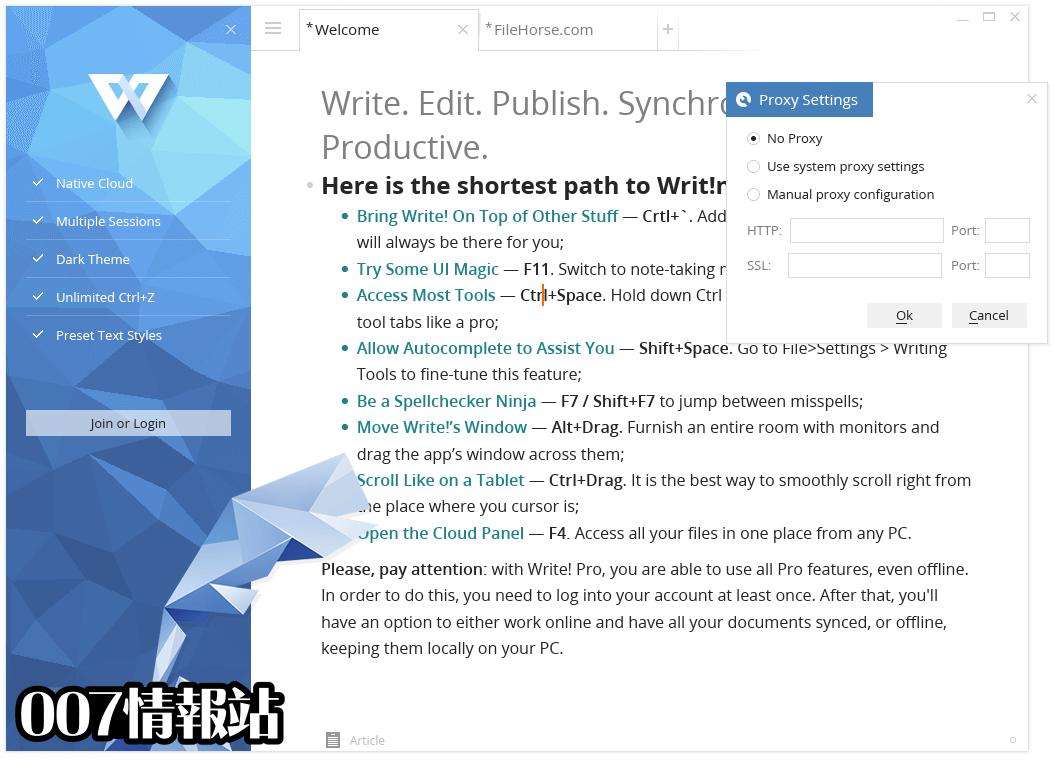 Write! Screenshot 3