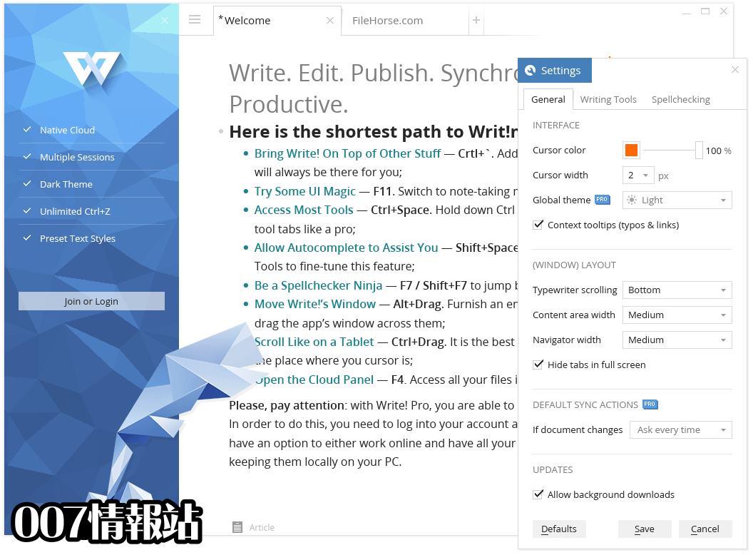 Write! Screenshot 5