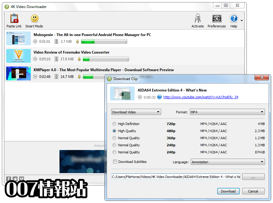 4K Video Downloader Screenshot 2