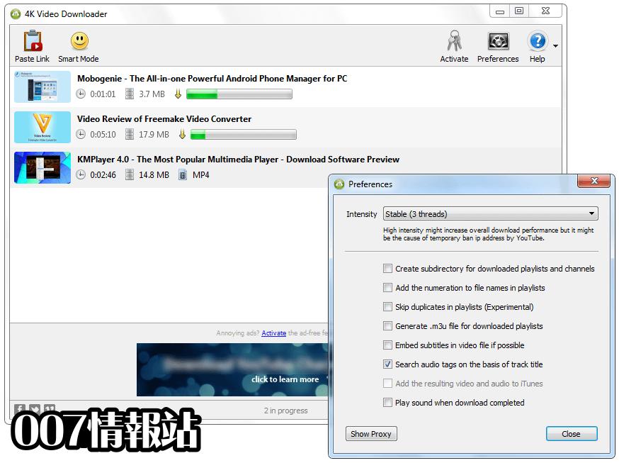 4K Video Downloader Screenshot 4