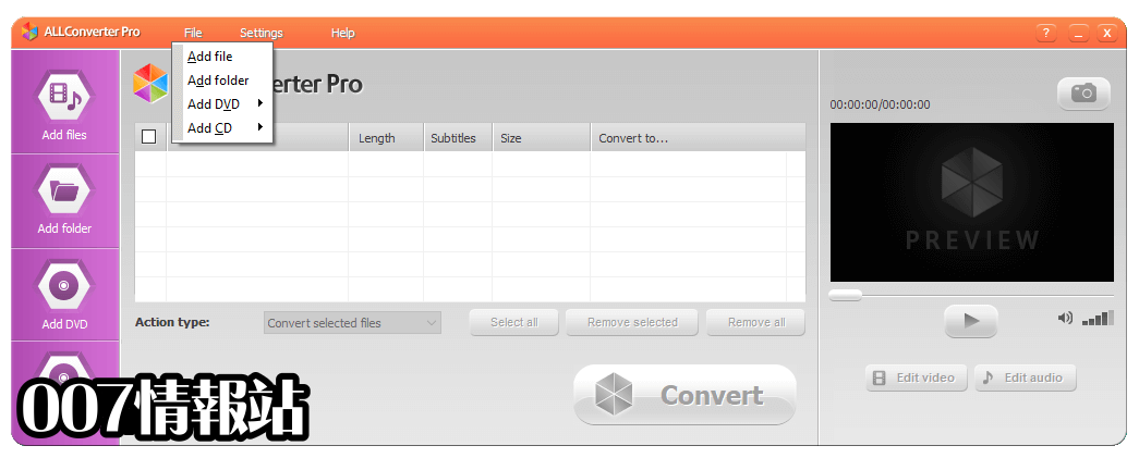 ALLConverter PRO Screenshot 2