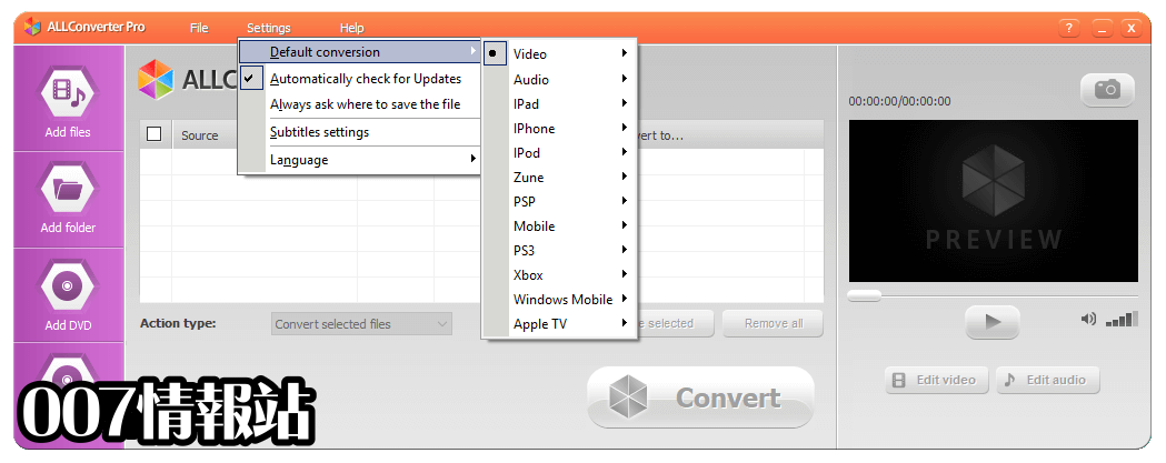 ALLConverter PRO Screenshot 4