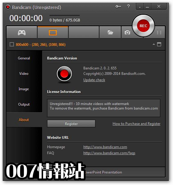 Bandicam Screenshot 3