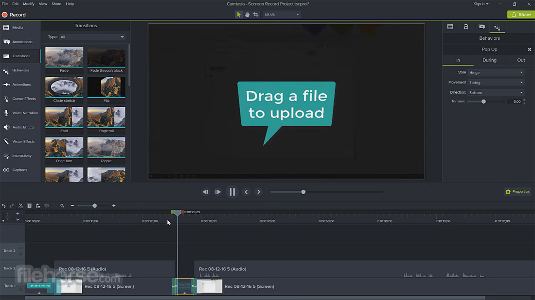 Camtasia Studio Screenshot 4