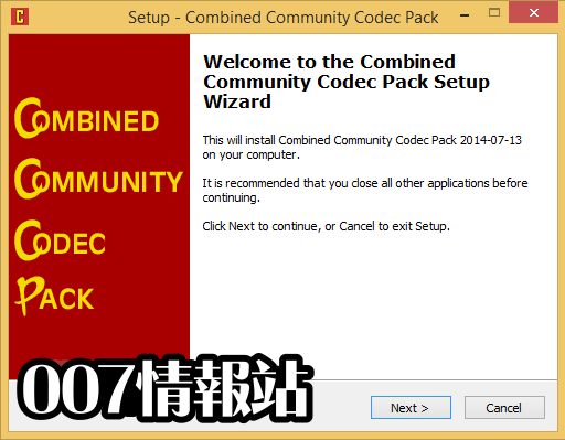 Combined Community Codec Pack (32-bit) Screenshot 1