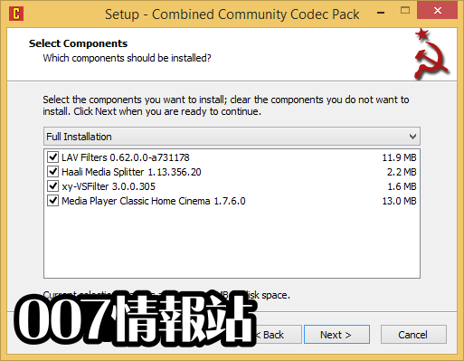 Combined Community Codec Pack (32-bit) Screenshot 2