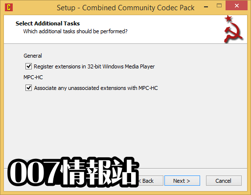 Combined Community Codec Pack (32-bit) Screenshot 3