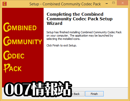 Combined Community Codec Pack (32-bit) Screenshot 5