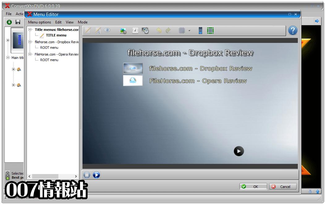 ConvertXtoDVD Screenshot 3