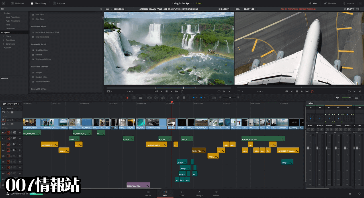 DaVinci Resolve Screenshot 2