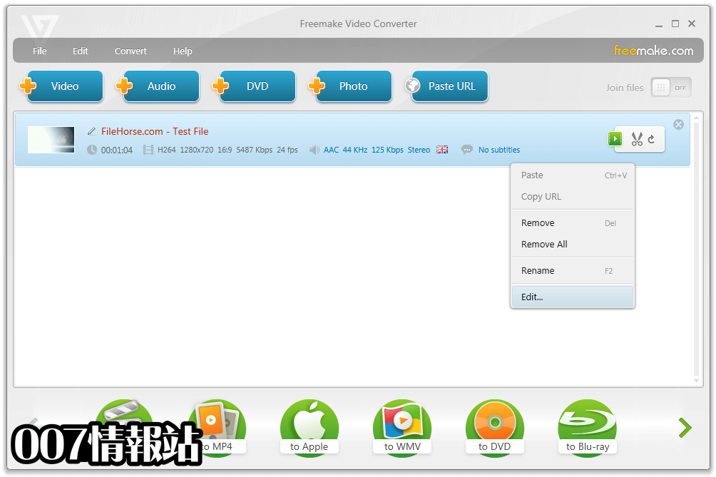 Freemake Video Converter Screenshot 2