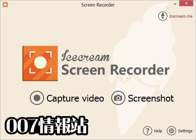 IceCream Screen Recorder Screenshot 1