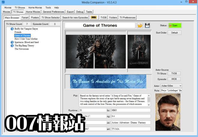 Media Companion (64-bit) Screenshot 3