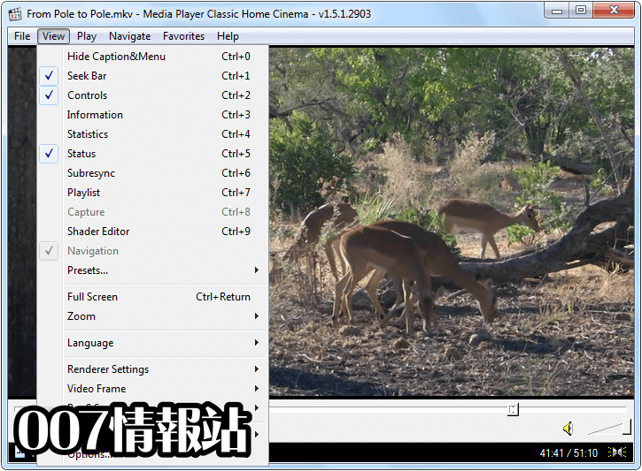 Media Player Classic (32-bit) Screenshot 2