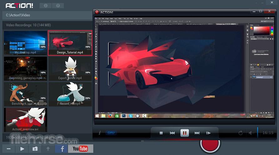 Mirillis Action! Screenshot 2