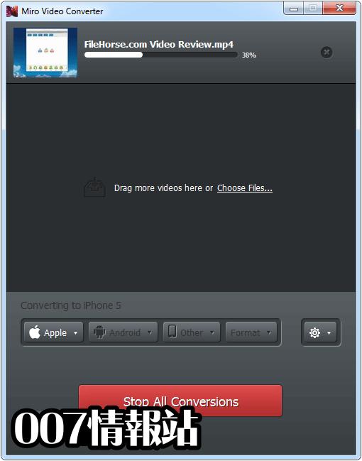 Miro Video Converter Screenshot 3