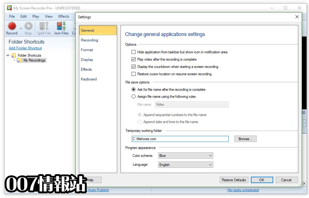 My Screen Recorder Pro Screenshot 2
