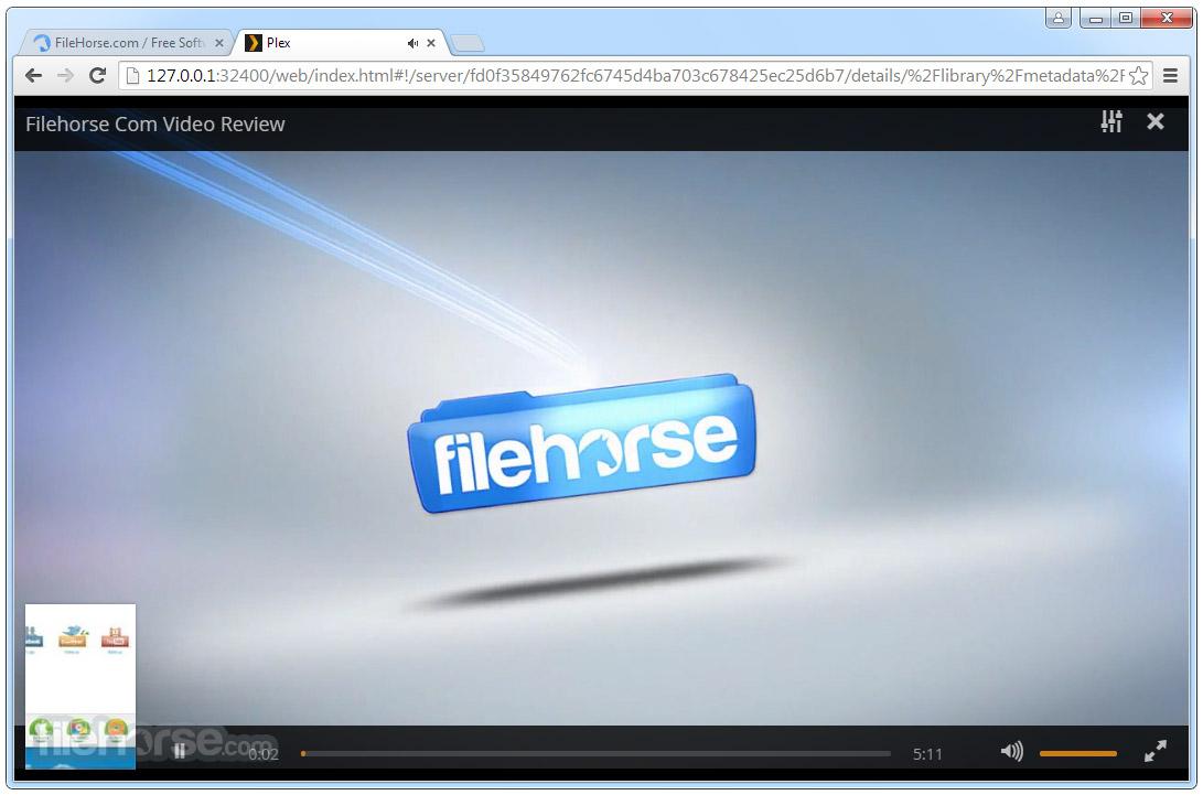 Plex Media Server Screenshot 3
