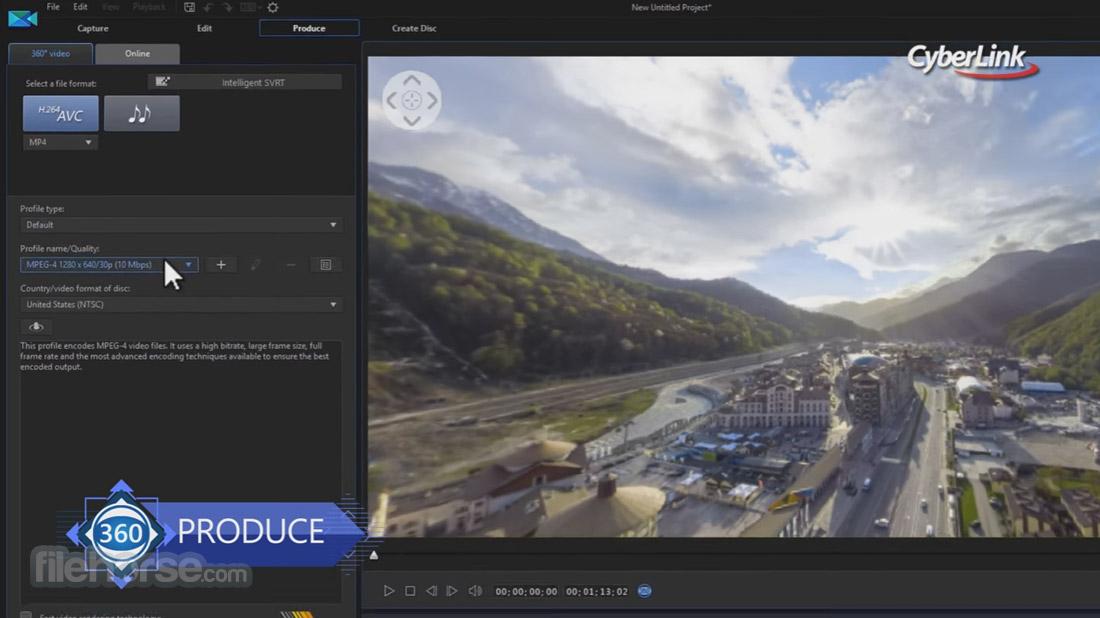 PowerDirector Screenshot 5