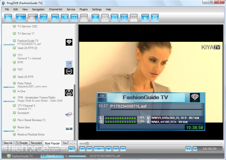ProgDVB (64-bit) Screenshot 1