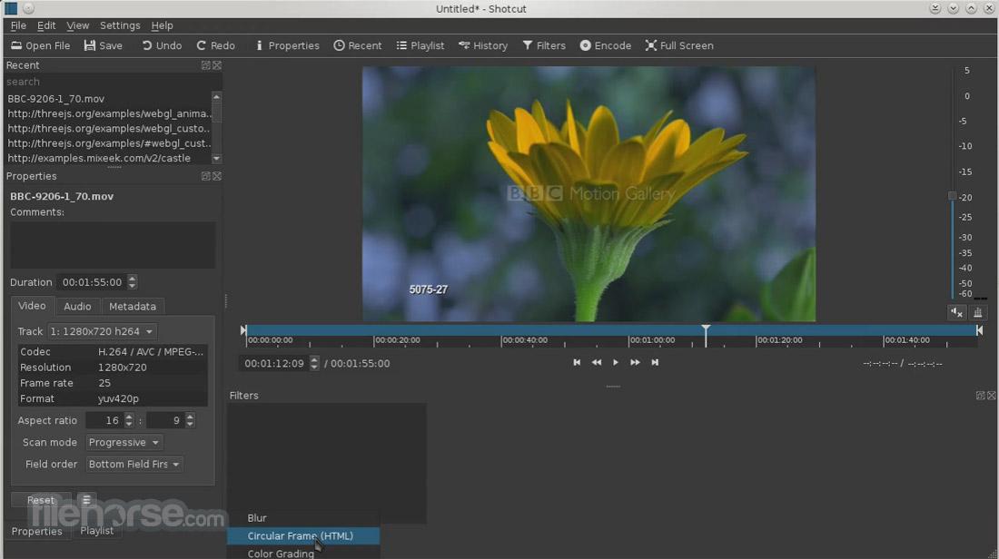 Shotcut (32-bit) Screenshot 4