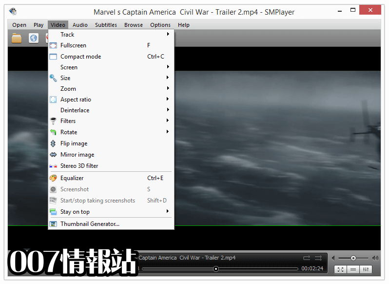 SMPlayer (64-bit) Screenshot 3