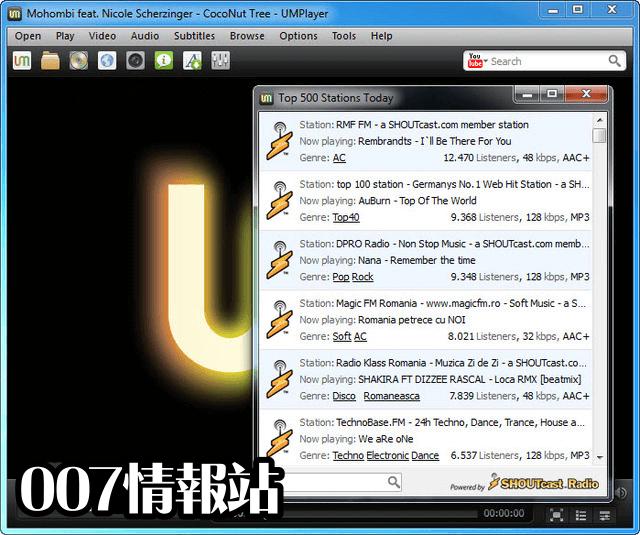 UMPlayer Screenshot 2
