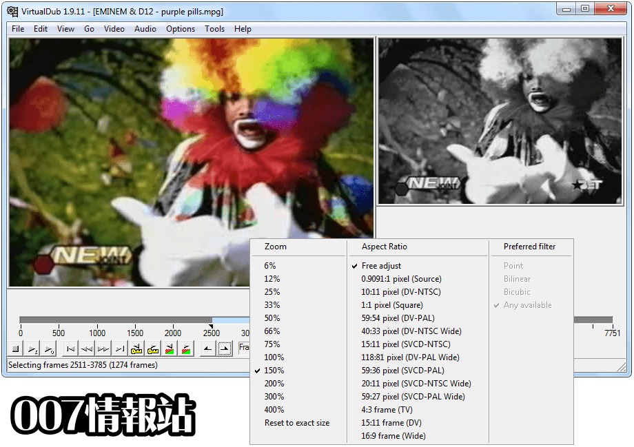 VirtualDub (64-bit) Screenshot 2