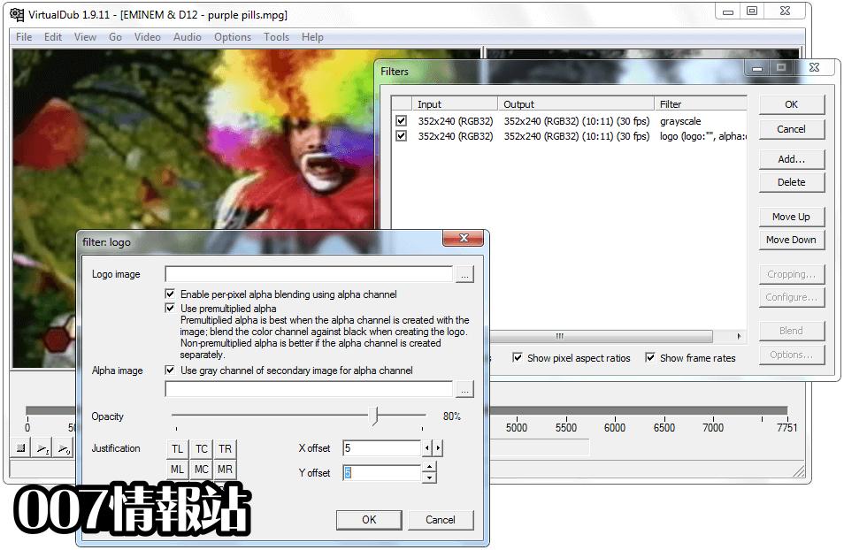 VirtualDub (64-bit) Screenshot 3